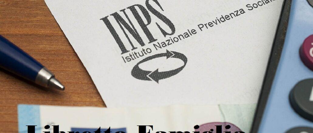 libretto famiglia INPS: come funziona