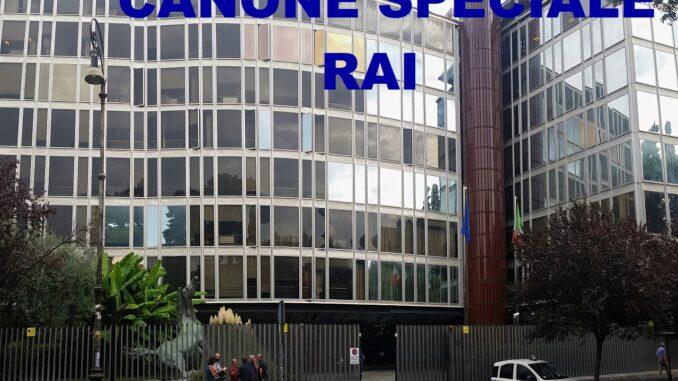 canone speciale RAI