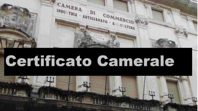 Cos'è il certificato camerale: differenze con la visura camerale