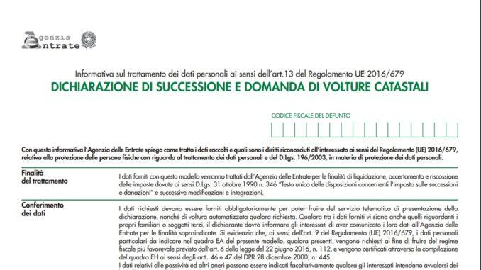 Pratica di successione: avvio e documenti