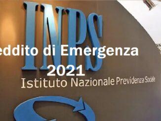 Reddito di Emergenza luglio 2021