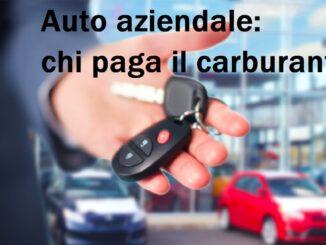 Chi paga il carburante per l'auto aziendale