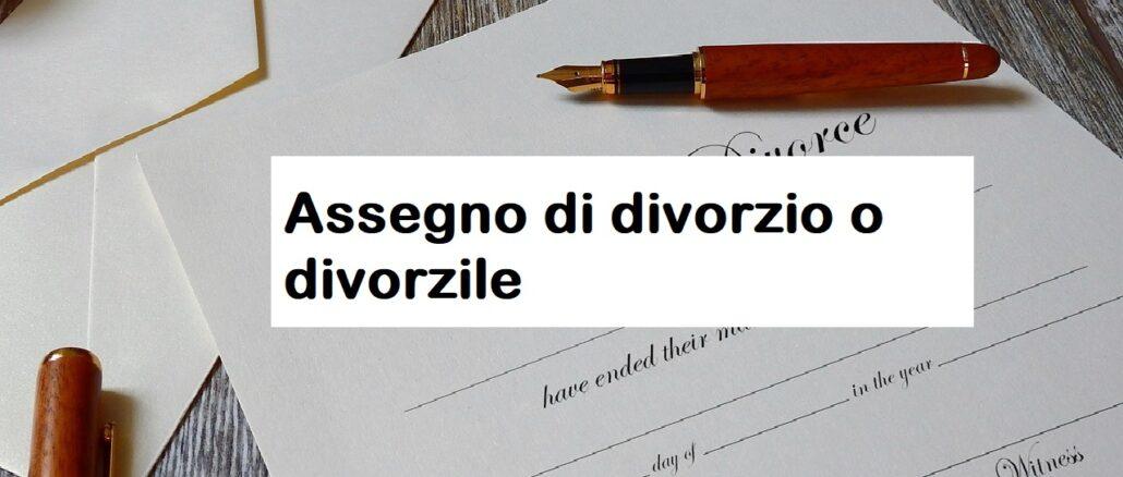 Assegno di divorzio: presupposti e come si calcola