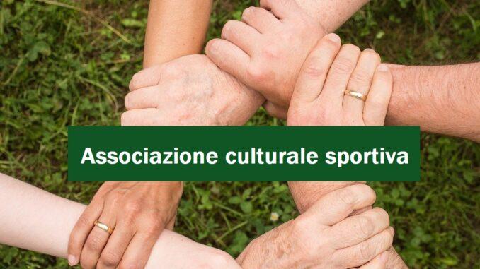 Associazione culturale sportiva: i passaggi da seguire per la procedura di apertura