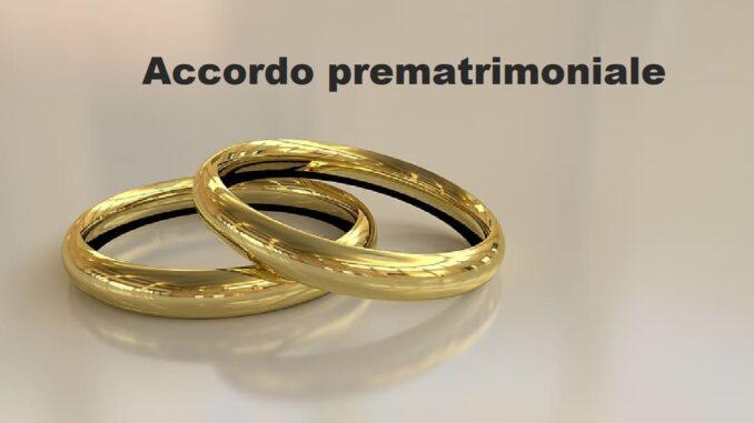 accordo prematrimoniale: valido o no in Italia?