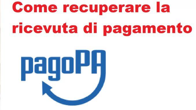 Tutti i tentativi per recuperare la ricevuta di pagamento PagoPA