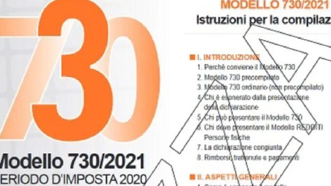 Mod. 730/2021: scadenza 30 settembre e ultime novità
