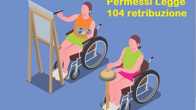 Trattamento in busta permessi legge 104