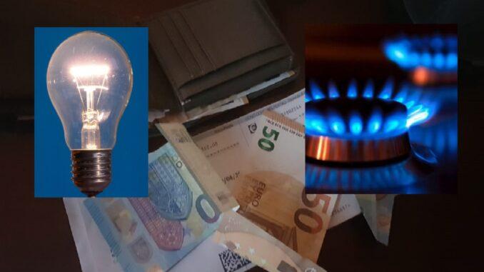 rincari bollette luce e gas: l'intervento del governo